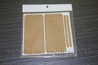 Wholesale Carbon Sticker For Mobile Phones - Carbon Fiber Vinyl Skin Sticker Full Body Mobile Phone Guard for Apple iphone 5 5th 5G 4S 4G 4th 4
