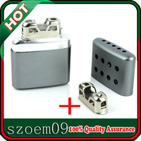 Wholesale New Small Ultralight Aluminum Pocket Grey Handy Hand Warmer Free Replacement Head