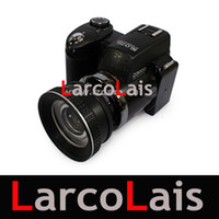 Wholesale NEW D3000 HD Digital Camera Video Camera P Inch LCD X Optical Zoom By Telephoto Lens