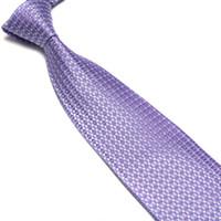 Stripes Business Normal New Classic Checks shirt tie neck tie JACQUARD WOVEN Silk Men's Tie Necktie 10pcs