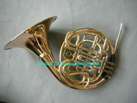 Wholesale New Arrival Chinese Famous Brand CTE Key double French Horn Golden HOT