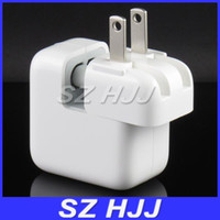 Dock Chargers For Apple iPhone No USB Wall Charger Adapter For iPad Mini 12W 2.4A Home Wall Charger US Plug For iPad 4 iPhone5 5g 5S