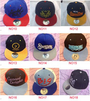 Wholesale Snapback hats flat brim sports snap back hat caps baseball cap new design Neff snapbacks blank hat