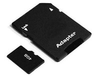 Wholesale 4GB micro sd card Genuine gb capacity cell phone MP3 player memory card adapter box