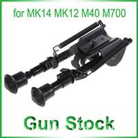 Wholesale Multifunctional Metal Gun Stock Stand Fixing Tool for MK14 MK12 M40 M700 AWP Gun Black