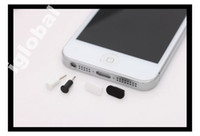 Wholesale 1000PCS dock cover for iPhone G dust plug charger socket earphone jack plug