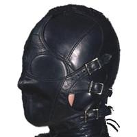 Wholesale 1pc best price for BDSM factory Bondage Quality Multiplex PVC Hood