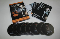 Wholesale X TrainFit At Home Workout Women s Complete Fitness DVDs DHL shipping pieces