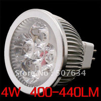 Wholesale 10X MR16 W LED Spot Light Spotlights Spot lamp AC DC V V Lumens