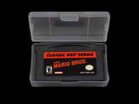 Wholesale 50pcs Brand New Classic NES Series Super Mario Bros Game Card For GBA Console