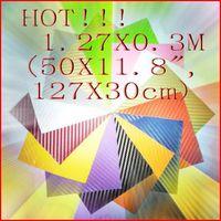 Wholesale 3D Diagonal Carbon Fiber Vinyl Film Sheet m Twill Weave Cell Phone Car Mirror Truck Sticker