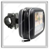 Wholesale GPS waterproof Case Motorcycle Bike Waterproof Case Bag Mount Holder For Garmin GPS Navigator AAAAPQ00BK