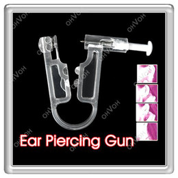 Wholesale S5Q New Healthy Asepsis Ear Body Studs Earring Piercing Gun Pierce Mackup kit AAAARO0000