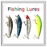 Wholesale S5Q x cm Barbed Fishing Lures Tackle Hooks Sea Minnow Bait Rattling Jerkbaits AAAAIU0400