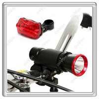 Wholesale S5Q Rear Light W CREE LED Torch Mountain Bike Bicycle Cycle Flashlight Lamp AAAAQY