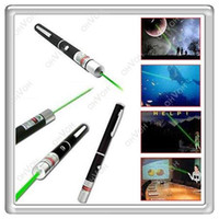 Wholesale S5Q Green HD Beam Laser Pointer Pen Camping Hiking Hunting Survival Kit Tools AAAAER