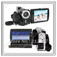 Wholesale S6Q quot LCD MP Solar Panel x Zoom Self Charged Digital Camcorder Camera DV DC AAAADF