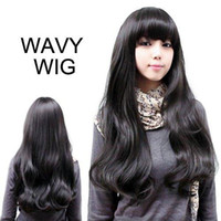 European Wigs asian hair styling - S5Q New Style Womens Girls Sexy Long Fashion Full Wavy Hair Wig Colors Available AAAAYD