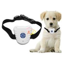 Wholesale S5Q Ultrasonic Dog Anti Bark Stop Barking Healthy Safe Training Collar For Pets AAAAEB