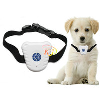 Wholesale Ultrasonic Dog Anti Bark Stop Barking Healthy Safe Training Collar For Pets
