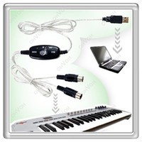 Wholesale S5Q USB Midi Cable to Keyboard Module Controller Interface Adapter For PC Laptop