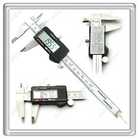 Wholesale S5Q quot mm Digital Electronic Vernier Caliper Micrometer Stainless Steel Guage AAAAGA