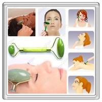 al por mayor cara masajeador cuello-S5Q chino del rodillo del Jade real Facial cara cuello adelgazante masajeador belleza herramienta nueva AAAAHJ