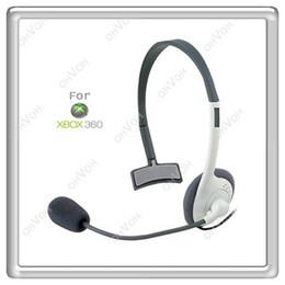 Wholesale S5Q Earphone Headphone Headset with Mic Microphone For XBOX XBOX360 Live New AAAALX