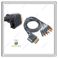 Wholesale S5Q in1 HD Component AV Cable Cord Adapter for HDTV Microsoft Xbox XBOX360 AAAAMA