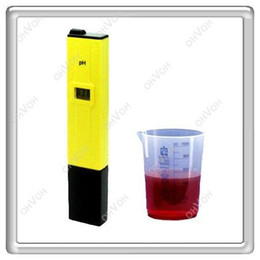 Wholesale S5Q Digital Led Display PH Pen Test Meter Aquarium Hydroponics Probe Tool Tester AAAAEL