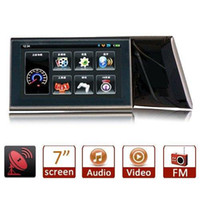 Wholesale S6Q quot LCD AV in FM Touch Screen Car GPS Navigation Sat Nav Navigator AAAAVP