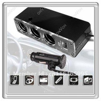 Wholesale S5Q Car Cigarette Lighter Splitter USB Charger Slot For Cell Phone MP4 iPod AAAAAR