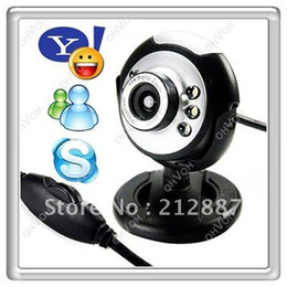 Wholesale S5Q MP Mic Webcam USB LED Web Cam Camera Camcorder For Laptop Pc Online MSN Skype AAAACP