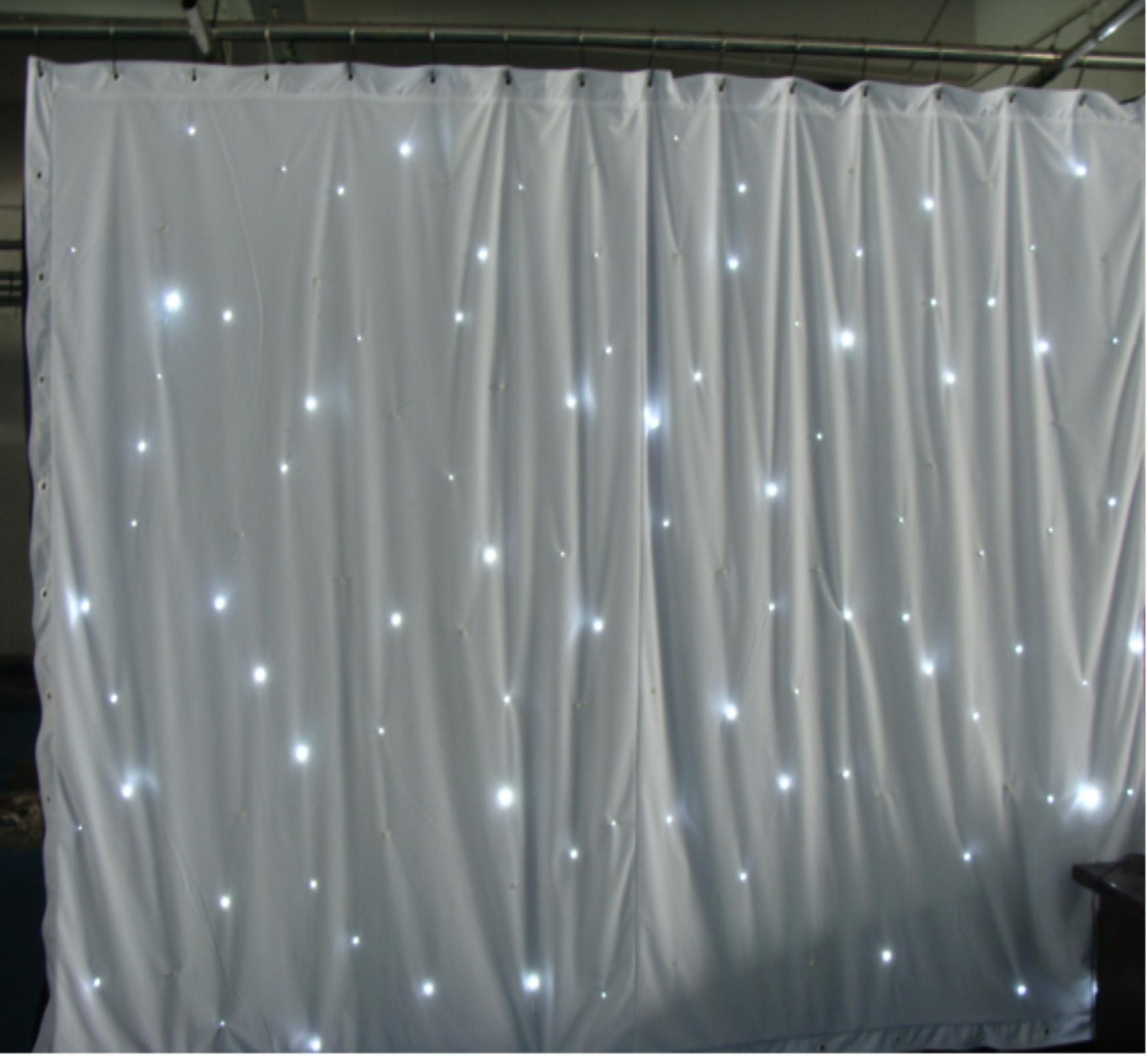 Top SMD5050 qualità-8x3m LED bianchi luci della tenda da sfondo a ...