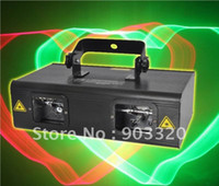 Green activated double - NEW MW RG D Double Lens Animation Laser Light Disco Light American DJ Light