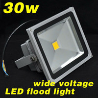 Wholesale LED flood light w warm white cool white wide voltage AC v waterproof IP