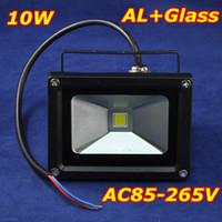 Wholesale LED Flood Light W LED Bulb Waterproof IP65 AC85 V AL Glass Black K Warm White for LED Flood Light worldunqueen