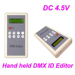 Wholesale Led DMX Editor Controller setting Module Address Code DC4 V Hand held DMX ID Editor one to one
