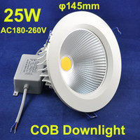 cutting die - Die casting Aluminium Recessed lighting Cut Hole mm W COB Led Downlight Led ceiling lamp