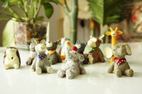Carved polyresin statue - ZAKKA Polyresin Animal Figurines X Resin Animals Statue Creative Look Into Sky Design Home Décor Microlandschaft Accessories
