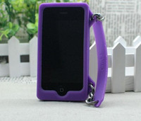 Wholesale New Arrival Lady Handbag Style Soft Silicone Case Cover for iphone5 G with AAA quality