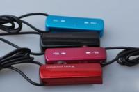 Wholesale 30pcs GB lipstick necklace music mp3 player water resistant DHL