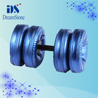 Wholesale New Chrismas Gifts dumbbells for Adult Water Poured Dumbbell By EMS pair