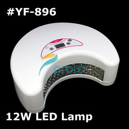 Wholesale 12W Professional Moonlight LED Light Nail Curing Lamp for Soak off Gels Non soak offs