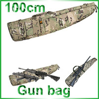 Wholesale 100cm Heavy Duty Gun Carrying Bag Rifle Case CON CAMO