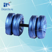 Wholesale New Creation Sport Product Water Poured Dumbbell By EMS pairs