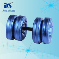 Wholesale New Creation Sport Product for Chrismas Water Poured Dumbbell By EMS pairs