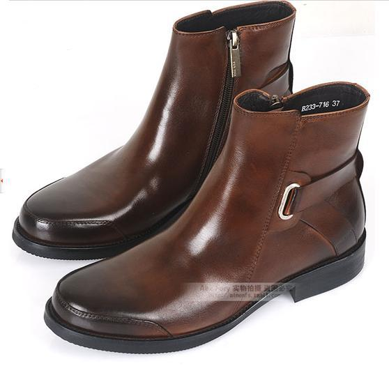 Mens Dress Winter Boots | Santa Barbara Institute for