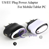 Wholesale Mini USB Travel Wall Charger Adapter for Mobile Phone iPhone iPad iPod US EU Plug enterprise AD018