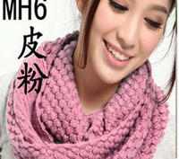 Wholesale winter Warm woman New scarf Wool scarf Corn knitted scarf scarf women long scarf